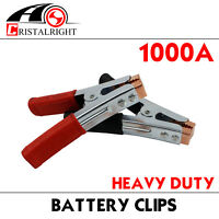 4pcs Jumper Cable Jump Starter 1300Amp Heavy Duty Battery Charger Clips Clamps