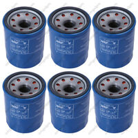 6-pc OIL FILTERS 15400-RTA-003 for HONDA ACURA 15400-PLM-A01, 15400-PLM-A02
