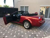 2009 Ford Mustang GT Convertible 2009 Ford Mustang Convertible 4.0L Premium Edition 5 Speed Manual Transmission