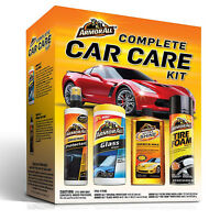 Car Care Kit Cleaning Set Holiday Gift Pack Shine Wash Wax Interior Exterior