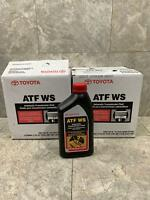 Toyota Lexus Scion atf ws World Standard Transmission Fluid 12qts Case