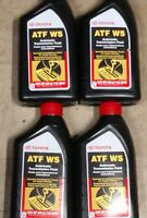4 Quarts Genuine Toyota ATF WS World Standard Automatic Transmission Fluid OEM