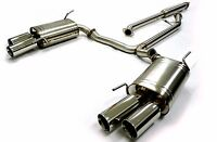 OBX Catback Exhaust System fits 04 to 08 Acura TL / TL-S Auto 6spd Manual Trans