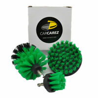 Drill Brush Automotive Detailing - Drill Power Brush Kit - Interior, Upholstery