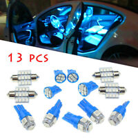 13x Auto Car Interior LED Lights Dome License Plate Lamp 12V Kit Accessories 8k