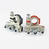 Pair Battery Terminal Connector Heavy Duty Car Vehicle Quick Cable Clamp Clip