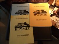 hummer h1 coloring books