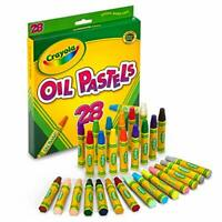 Oil Pastels, School Supplies, Kids Indoor Activities At Home, 28 Assorted Colors