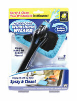 Hurricane Windshield Wizard As Seen On TV Microfiber Reach and Clean Tool New