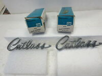 1968 & 1969 OLDSMOBILE CUTLASS NOS CHROME EMBLEMS