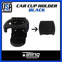 1pcs Drink Cup Holder Folding Black Car Auto Parts Accessory Insert Replacement