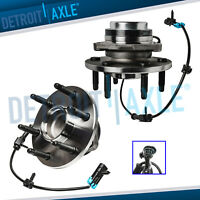 Set of (2) New Front Driver and Passenger Wheel Hub and Bearing 2WD w/ ABS