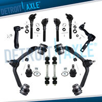 Ford F-150 F-250 Expedition 4x4 Upper Control Arm Ball Joint Tierod 12pc Kit