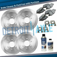 2002 2003 - 2006 FORD EXPEDITION & NAVIGATOR Front & Rear Rotors + Ceramic Pads