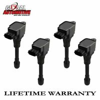 New Ignition Coil for 2002 2003 2004 2005 2006 Nissan Sentra 1.8L UF351 Set of 4