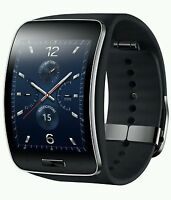 SAMSUNG Galaxy Gear S Smart Watch SM-SM-R750PZ Curved Super AMOLED [BLACK]