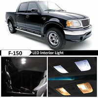 16x White Interior Map Dome LED Light Package Kit Fits 1997-2003 Ford F150 F-150