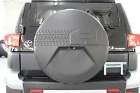 NEW 2007- 2014 TOYOTA FJ CRUISER W/ BACK UP CAM OEM SPARE TIRE WHEEL HARD COVER