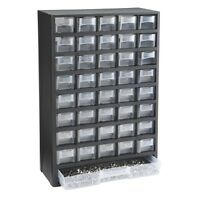 40 Bin Organizer w/Full Length Drawer Parts/Fasteners/Nuts/Bolts/Other Hardware
