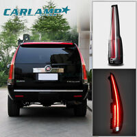 LED Tail Lights For Cadillac Escalade 2007-2014 Rear Light 2016 Model Assembly