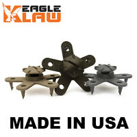 Floor Mat Clips Set of Anti-Slip Fixing Anchors for Car Mats - Eagle Klaw