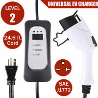 EVSE Electric Vehicle Charger EV Charger Level 2 220Volt 16A for Leaf Fiat 500E