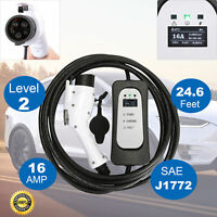 3x Faster EVSE Electric Vehicle Car Charger Level 2 Tesla Prius 220V 16A J1772