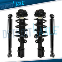 (4pc) 2003 2004 2005 2006 2007 Saturn Ion Front Quick Strut + 2 Rear Shocks