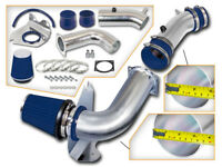 Cold Air Intake Kit for 1999-2004 Ford Mustang 3.8L V6 + Blue Filter Aluminum