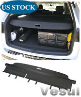 Fit For Volkswagen VW Atlas 2018 Rear Trunk Cargo Cover Security Shade Black