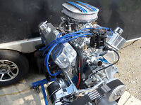 347 ROLLER STROKER TURN KEY HI PERFORMANCE  FORD  ENGINE  BY CRICKET 420 HP