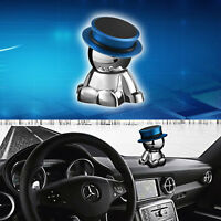 1pcs Magnetic Phone Holder Stand Car Accessories Stainless steel 360° Rotation