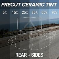 PreCut Ceramic Tint Film for All Sides & Rears Window Film Any Tint Shade
