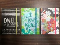 3 - Summit Studios BRAND NEW desktop journals variety pack
