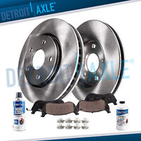 Front Rotors + Ceramic Pads 2010 2011 2012 2013 2014 2015 -2017 Chevy Equinox