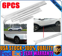 Stainless Steel Body Side Door Cover Molding Trim Garnish Kit For Honda CR-V CRV