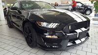 2018 Ford Mustang SHELBY COBRA GT 350 2018 FORD MUSTANG GT 350 BLACK W/ WHITE STRIPES - COBRA - SHELBY - 526HP - NEW