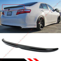 FOR 2007-2011 TOYOTA CAMRY LE SE XLE PAINTED GLOSSY BLACK REAR TRUNK LID SPOILER