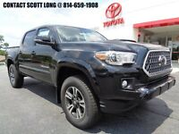 2018 Toyota Tacoma 2018 Double Cab 4x4 3.5L 4WD TRD Sport Premium New 2018 Tacoma Double Cab 4x4 TRD Premium Sport Sunroof Leather Navigation 4WD