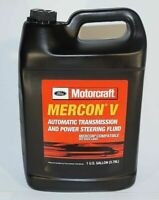 New OEM 1 Gallon Ford Motorcraft XT-5-GM Mercon V Transmission Fluid