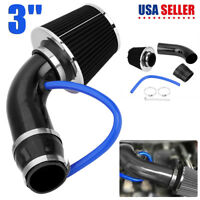 Auto Cold Air Intake Filter Alumimum Induction Kit Pipe Hose System Universal