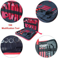 19pc Car Accessories Audio Trim Removal Set Open Pry Modification Auto Tool Kit