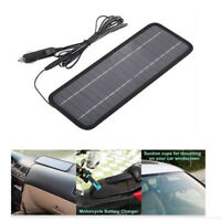 4.5W Solar Panel 12V Battery Charger Maintainer for Boat Car RV SUV Accessories