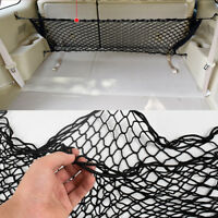 60X90cm Car SUV Polypropylene+NR Rear Cargo Trunk Storage Organizer Flexible Net