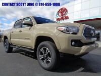 2019 Toyota Tacoma New 2019 Double Cab 4x4 3.5L 4WD TRD Sport New 2019 Tacoma Double Cab 4x4 TRD Sport Navigation Hood Scoop Quicksand Paint