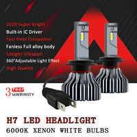 2018 Exquisite H7 LED Headlight kit High / Low Beam Bulb Xenon White CSP lamp D1
