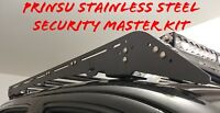 PRINSU Security Hardware Master Kit Tacoma 4 Runner Roof Mount System Stainless