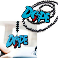 Rearview Mirror Hanging Charm Beaded Pendant Ornament - JDM Mario Ghost Dope