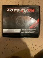 Drum Brake Shoe Rear AUTO EXTRA AXS704R. Fits 95 Mazda Among Other Makes.