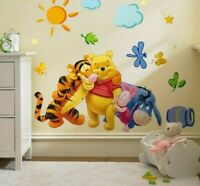 Stickers Children Home Bedroom Decals Wall For Rooms Supplies Poster Decoration